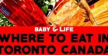 Dining out in Toronto with kids / Find out where to eat in Toronto with kids. Insider tips on the best kid-friendly restaurants for the best food in Toronto by a Toronto family!