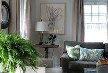 Lavender Living Room