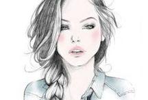Illustrations ::  Girls