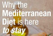 Mediterranean Food / Mediterranean healthy food, sundried tomatoes, olive, hummus  vegetarian Greek / by Tearose