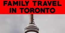Family Travel in Toronto: Best Things To Do with Kids in Toronto / Insider tips from a Toronto based family on the best things to do in Toronto with kids. Read more family travel tips for Toronto with kid friendly attractions.