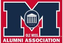 Ole Miss Alumni  / The Ole Miss Alumni Association is your way to stay connected to Ole Miss news and alumni events. Visit us online at www.olemissalumni.com. Hotty Toddy! / by Ole Miss