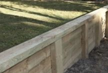 Retaining Wall Ideas / by Deanna Patterson
