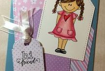 Joy Clair / Sharing my Joy Clair stamps projects