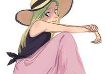 Character design: Girls