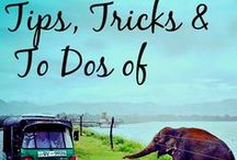 Tips & Tricks For Travel / We want to help your next trip run smoothly with these awesome travel hacks. This board includes: city guides, the best travel apps, the cheapest countries in the world, the most expensive countries in the world, packing tips, packing lists, how to avoid pickpocketing, and much more.