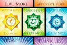 Chakras / Chakra Meaning and Meditations