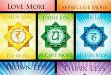 Chakras / Chakra Meaning and Meditations