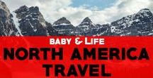 Travel in North America / Tips for travel in Canada, America and Canada. Read more travel advice for North America and inspiring photos of North America!