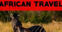 African Travel Adventures / African Travel Tips & Advice.  Get inspired by beautiful travel photography from Africa and read tips for going on safari in Africa! Includes Morocco travel tips!