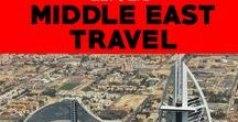 Middle East Travel / Planning a layover through Dubai or a visit to the Middle East? Tips for visiting the middle east.  Travel tips for visiting Dubai...and beyond!