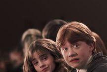 Harry + Hogwarts / Harry Potter. Need I say more?