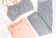 Spandex + Squats / For when you're feeling like sweating off the donuts and mac & cheese!