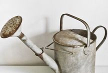 GARDEN ~ Pots, Tools & Sheds