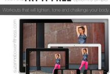 Suzanne Bowen Fitness / Workouts, videos, form tips, barre exercises, stretching routines.