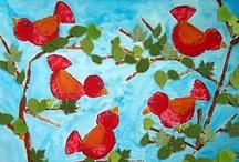 Children's Art - 2D (paper, canvas, paint, charcoal, pencil, etc.)