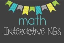 Math Interactive Notebooking / Collection of ideas and inspiration for interactive notebooks in the elementary classroom