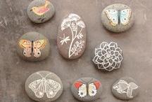 Children's Art - Sticks, Stones, & Rocks