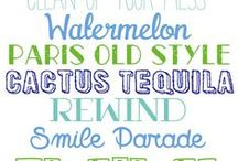 Font Lovin' / Fonts, Clips, and Graphics