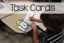 Task Card Madness / Collection of ideas for using task cards in the classroom