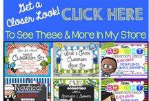 Classroom Decor Products / Print and Go Classroom Decor