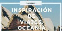 Inspiración de viajes: Oceanía