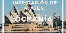 Inspiración de viajes: Oceanía / Inspiración de viajes: Oceanía - Información, guías y consejos para viajar a Oceanía