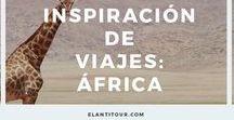 Inspiración de viajes: África