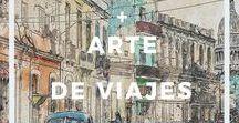 Decoración + arte de viajes / Decoración y arte de viajes - Posters, acuarelas, gráfica y arte con temática de viajes