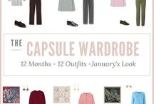 Clothing: 12 Months/12 Outfits / Build a capsule wardrobe month by month
