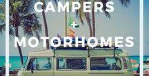 Campers + Motorhomes / Campers y motorhomes - Inspiración para renovar motorhomes, campers, camionetas VW, ideas prácticas y consejos.