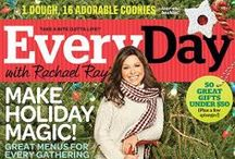 Magazine Covers / Every Day with Rachael Ray magazine Covers / by Rachael Ray Every Day