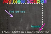 Back to School! / Speech and language activities for the beginning of the school year!
