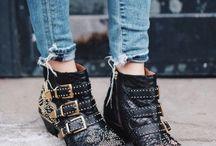 Boots & Flats / Boots and ballet flats