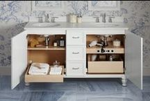 Bathroom Storage / Ready to get organized in the bathroom? We have solutions.