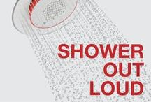 Shower Out Loud / Your music, your shower. Sing. Refresh. Energize. Escape. The Moxie showerhead + wireless speaker delivers up to 7 hours of audio by pairing wirelessly with your Bluetooth® enabled device. Just you + water + clean, clear sound, and its only from KOHLER. / by Kohler Co.