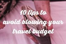 Budget travel + backpacking / Tips and tricks for budget travel and backpacking