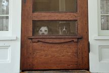 Welcome Home / Exteriors, Front Doors, Entry Ways, Mud Rooms,  Landscapes, Patios, Porches, Playscapes... / by Tatum K