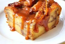 bread pudding / .