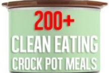 Clean Eating Crockpot Meals / by April Roycroft Fitness