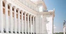 Altare della Patria / Dettagli neoclassici di uno dei monumenti più candidi e austeri monumenti di Roma.