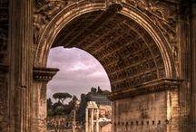 Archi Romani / Dagli archi trionfali romani all'EUR. un omaggio a una delle forme più ricorrente dell'architettura di Roma.