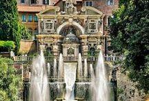 Villa d'Este / Esplora l'architettura e giardini di Villa d'Este a Tivoli.