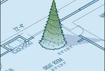Architectural Christmas Cards / Architectural Christmas Cards