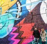 GRA: street art sul grande raccordo anulare / GRAArt - GRAArt - il progetto che ripercorre la storia e il mito di Roma attraverso opere di Urban Art realizzate da artisti provenienti da varie parti del mondo sulle pareti del Grande Raccordo Anulare.   Perché tutta la street art porta a Roma...