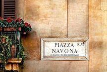 Piazza Navona / Scorci, dettagli e panorami a Piazza Navona.