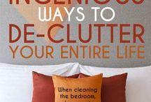 Cleaning & organizing / by Barbara Spaulding