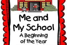 1st week of school / by Carol Fox Carrillo