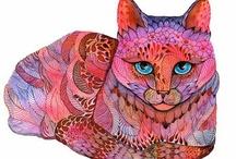 Cat Art / by Cindy Wegner