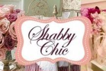 Shabby Chic / PINTEREST RECOMMENDS NOT COPYING ENTIRE BOARDS OR PINNING MORE THAN 10-15 PINS FROM ANY BOARD AT A TIME. PLEASE BE CONSIDERATE! / by Bill - Sandi Burt